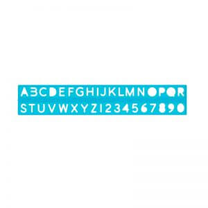 10mm Stencil – Ruler Type - Assorted