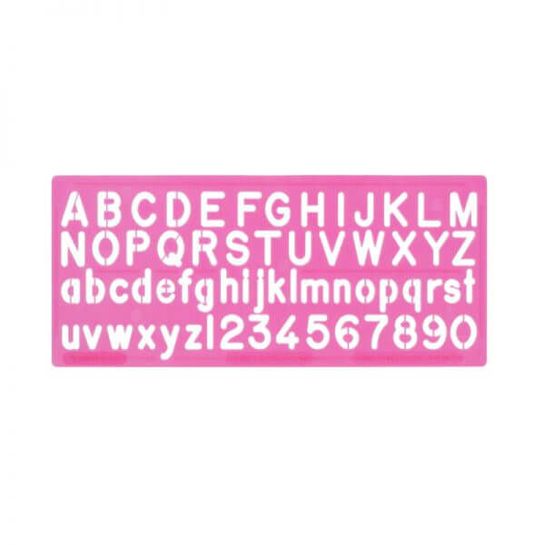 10mm Stencils – Lowercase - Assorted