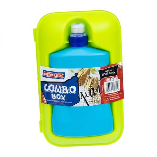 Combo Lunch Box with Bottle