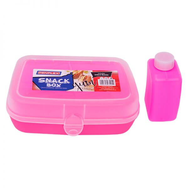 Snack Box with Bottle - Assorted