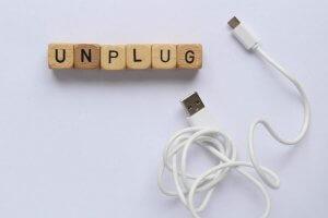 Unplug From The Digital World