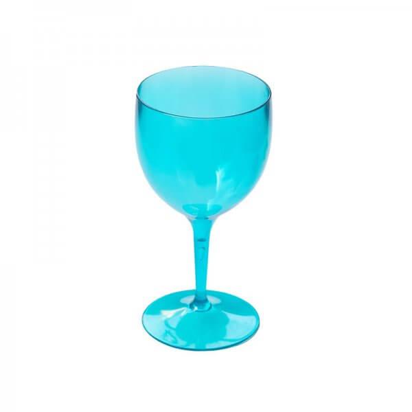 Wine Glass 250ml - Blue