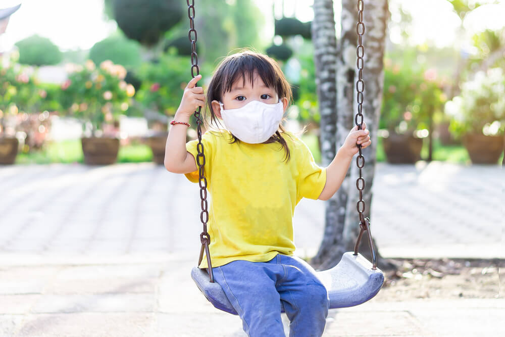Is the COVID pandemic affecting your child's socialising skills?